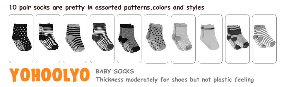 10 pair socks for toddler