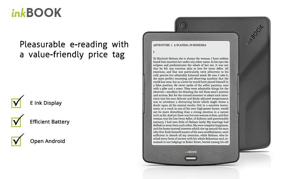 Amazon.com: InkBOOK Classic 2-6 Ebook Reader With E-Paper