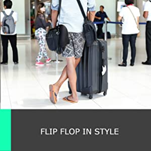 1349f726d40d Amazon.com  Mio Marino Flip Flops for Men - Comfortable Mens Beach ...