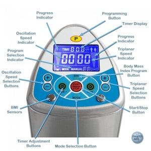 Gforce dual motor 1500 watt whole body for Gforce professional dual motor whole body vibration machine