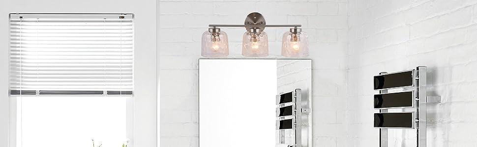 Bathroom Vanity Lights -  AL6091-W3SN