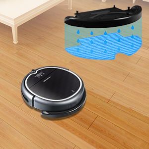 The robot vacuum cleaner will return to the charging station to recharge at low battery if the charging station is nearby.