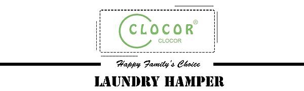 CLOCOR LAUNDRY HAMPER