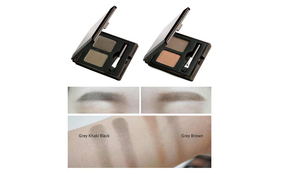 Amazon.com : SKINFOOD Choco Eyebrow Powder Cake (#1 Grey Khaki Black) - Eyebrow  Powder Duo, Natural Eyebroow Makeup, Natural Cacao Elemnet Contained :  Eyebrow Makeup : Beauty