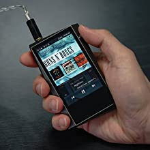 Astell&Kern A&norma SR15 High Resolution Music Player in hand