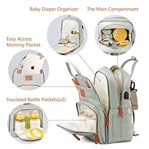 diaper bag changing bag