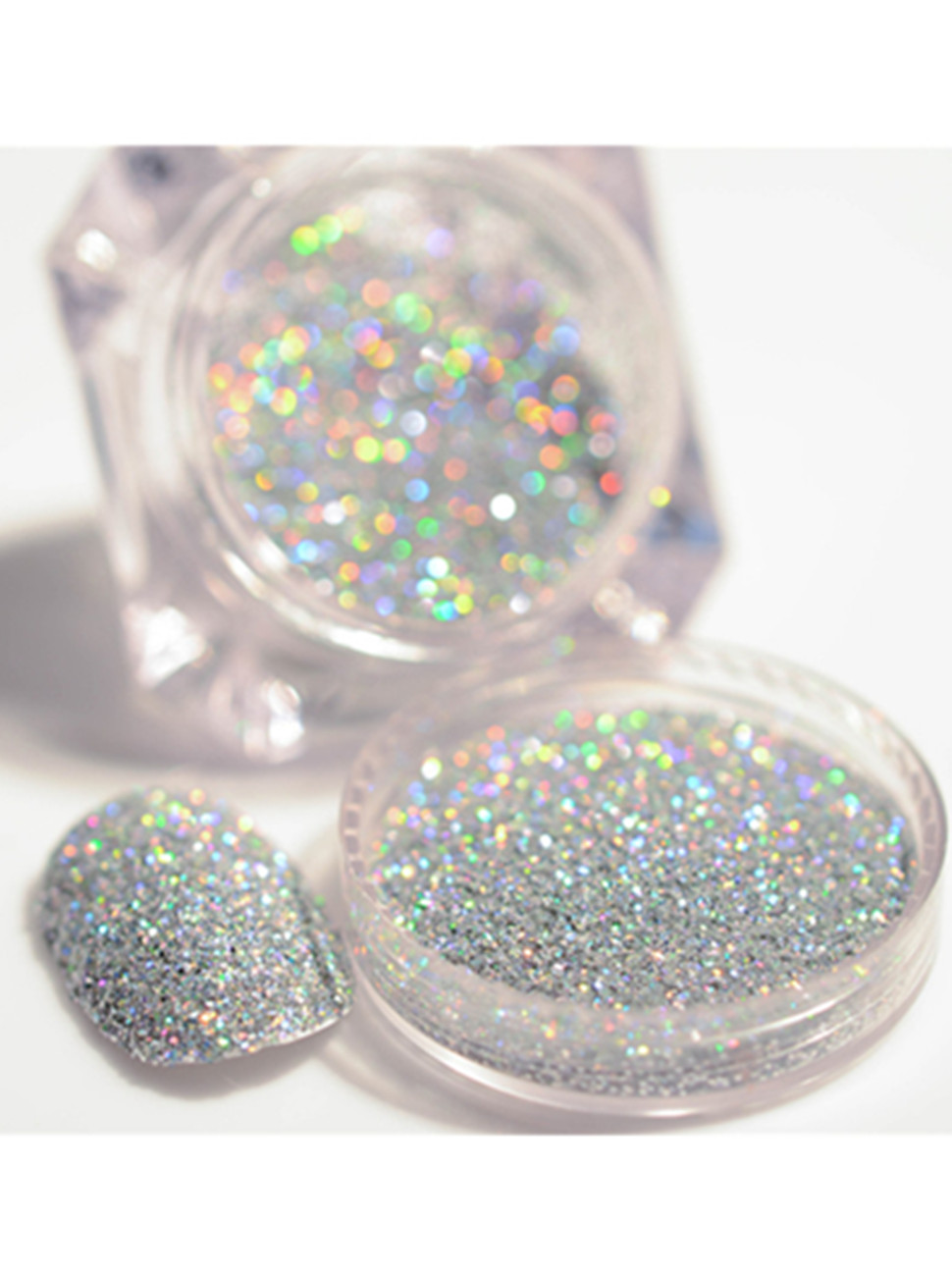 Amazon.com: BORN PRETTY 2g/Box Holographic Laser Powder Gorgeous ...