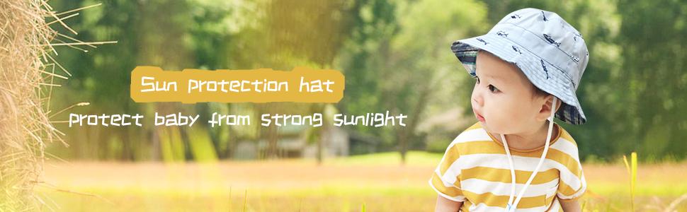 baby boy sun hat