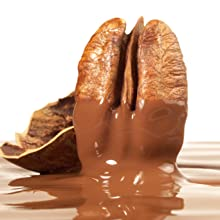 Pecan with chocolate