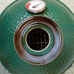 SmokeWare Chimney Cap Adapter fits MiniMax /& Small Big Green Egg R