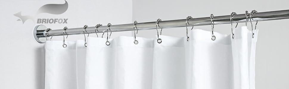 BrioFox Shower Curtain Rod
