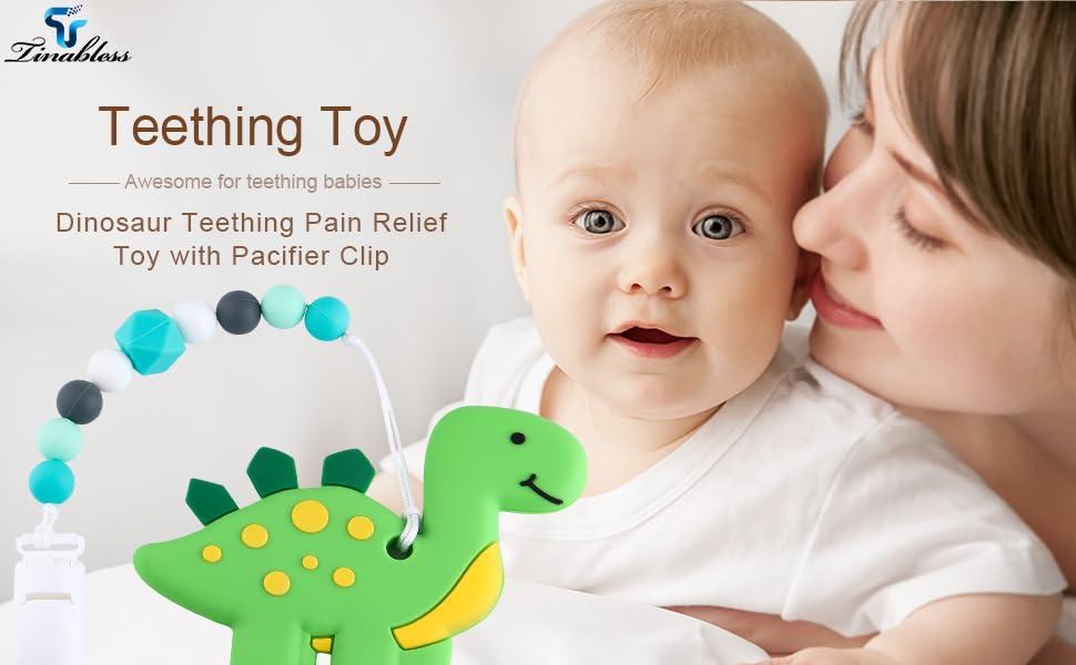 Amazon.com: Juguetes de dentición de silicona sin BPA ...