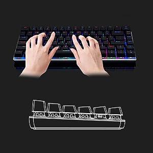 100% Anti-ghosting 82 Keys
