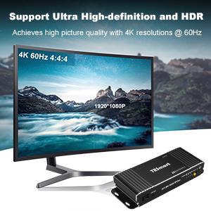4k HDMI KVM Switch