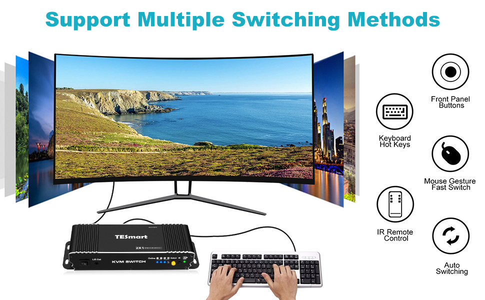 Support Mulitple Switching Method