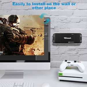 Install on Wall HDMI KVM Switcher