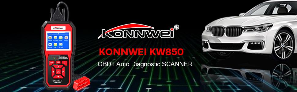 KONNWEI KW850 OBD2 Scanner
