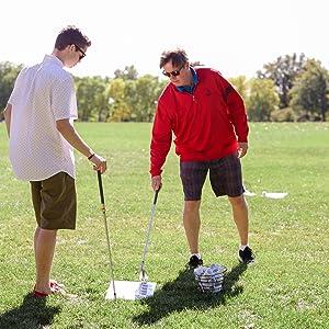 golf training and practice balls
