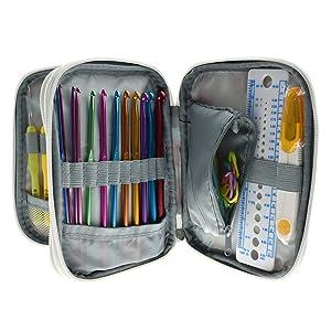 Katech Knitting Set with Bag