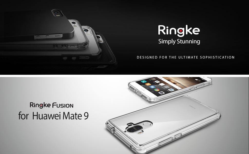 Amazon.com: Ringke fusion para Huawei Mate 9, Negro (Ink ...