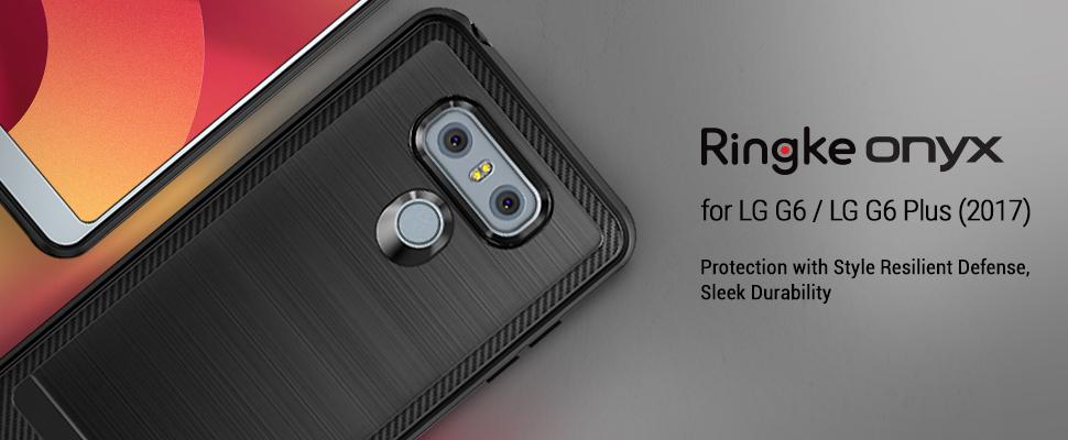 Huse Ringke LG G6 / G6 Plus Onyx Black