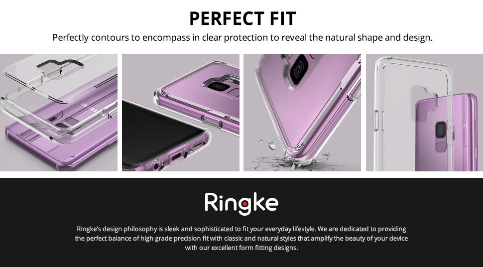 Husa Galaxy S9 Ringke Fusion Clear