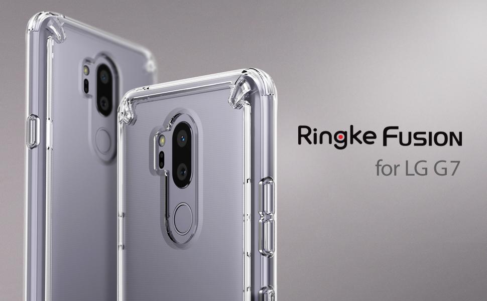 husa Ringke Fusion pentru LG G7 ThinQ