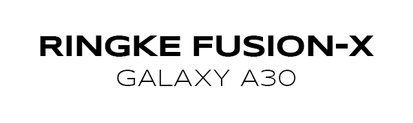 Ringke Fusion-X Designed for Galaxy A30 Case Ergonomic Transparent [Military Drop Tested Defense]
