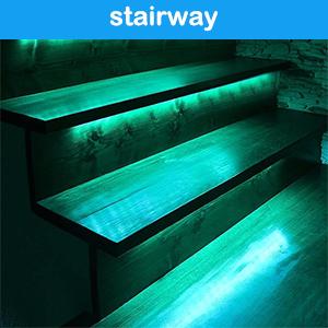used on stairway