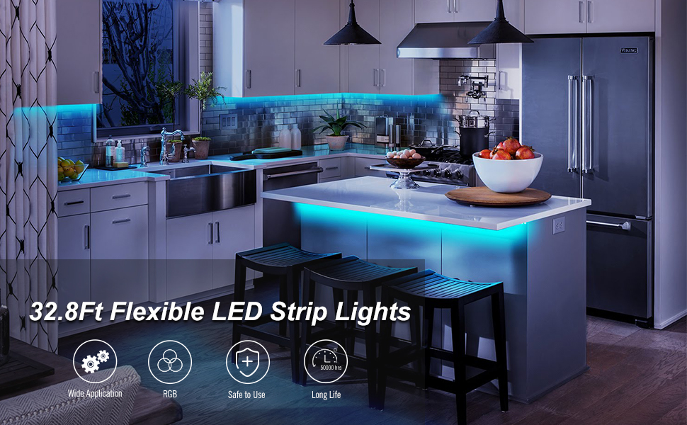 32.8Ft Flexible Led Strip Lights