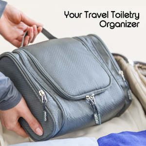 8f6aa11cf4 Amazon.com   Travel Hanging Toiletry Bag - Toiletry Kit for Women ...