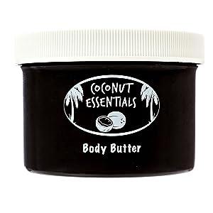Body Butter Organic moisturizer from coconut essentials