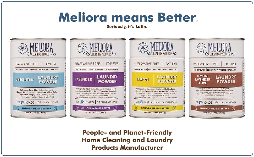 Meliora Cleaning Products Laundry Powder - All Scents