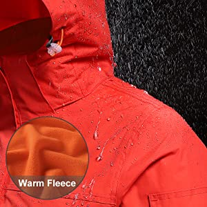 warm and waterproof