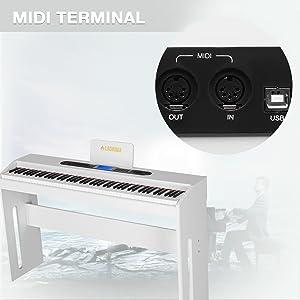 Digital Grand Piano Console Keyboard Piano