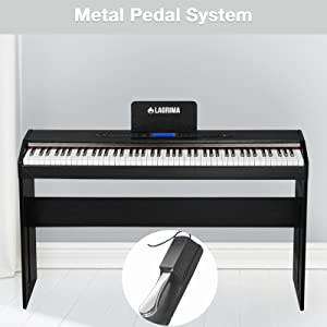 Electric Digital Grand Console Keyboard Piano