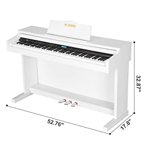88 Key Digital Grand Piano