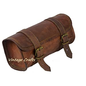 leather motorcycle bag