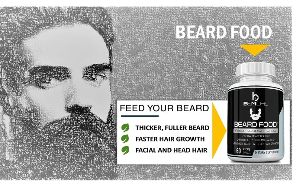 Virilitas Beard And Hair Growth Vitamin Supplement