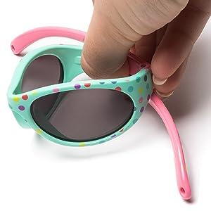 Amazon.com: Gafas de sol Kiddus para niños pequeños de 2 a 5 ...