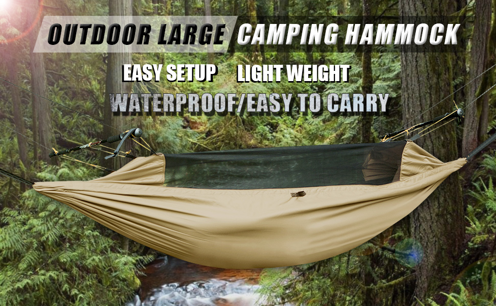 hammock with mosquito   parachute hammock backpacking hammock large multi function lightweight tactical hammock amazon    free soldier lightweight hammock backpacking hammock      rh   amazon