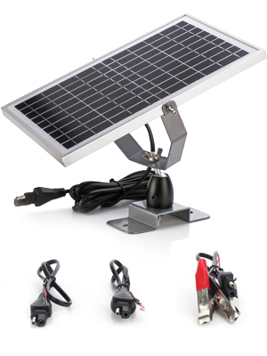 10w solar battery charger with MPPT