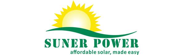 SUNER POWER LOGO
