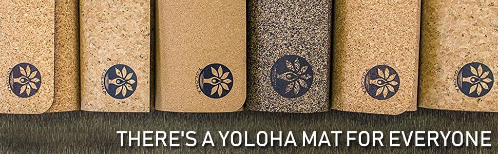 Amazon.com: Bolsa para esterilla de yoga de corcho Yoloha ...