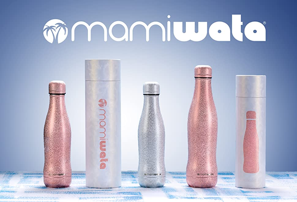 69f6a55c62 Amazon.com : MAMI WATA Stainless Steel Water Bottle - The Perfect ...