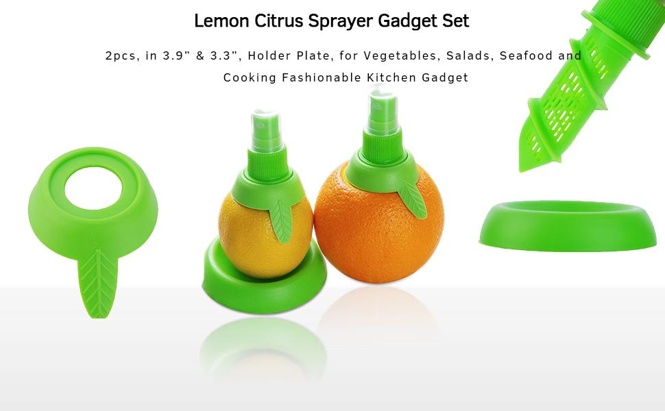Sprayer gadget set