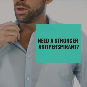 zerosweat stop sweating block sweat antipersipirant deodorant natural