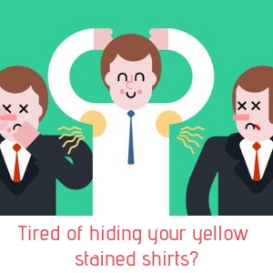 zerosweat lotion hyperdrosis no sweat hands face feet underarms armpits stains yellow shirt wet