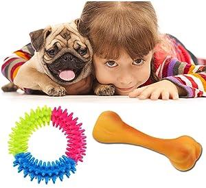 Pet Supplies : Lobeve Dog Toys 10 Pack Gift Set, Variety