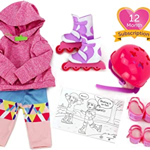 doll accessory subscription